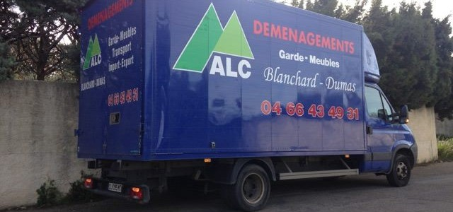Petit fourgon ALC DEMENAGEMENTS