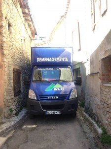 Fourgon ALC DEMENAGEMENTS sur Caveirac