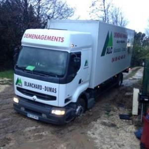 Camion de déménagements ALC DEM